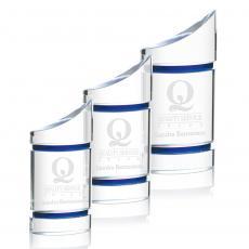 Custom-Engraved Crystal Awards - Gemma Award