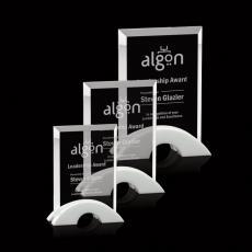 Custom-Engraved Crystal Awards - Bateman Award
