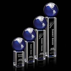 Awards & Recognition Ideas for Employees - Luz Globe Award - Silver