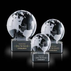 Desk Accessories - Globe on Paragon Black