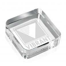 Desk Accessories - Square Paperweight - Optical