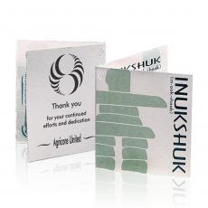Card Holders - Inukshuk Business Card Holder