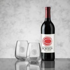 Wine & Champagne - Cabernet - Color Label & Brunswick Wine Set