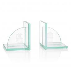 Personalized Corporate Gifts - Amberwood Bookends