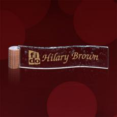 Name Plates - Curved Nameplate - Starfire