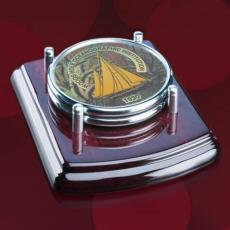 Coasters - Mayfair Coasters - Set of 2 - Chrome