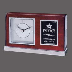 Awards & Recognition Ideas for Employees - Lincoln Clock -Chrome