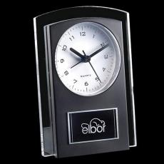 Personalized Corporate Gifts - Mallory Clock - Black