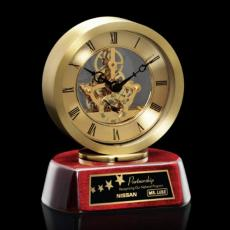 Personalized Corporate Gifts - Conchita Clock - Gold