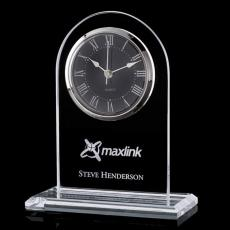 Clock Awards - Woodbine Clock - Jade 7.5""