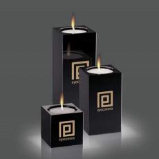 Candle Holders - Perth - Black (Set of 3)