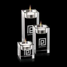 Candle Holders - Perth - Optical (Set of 3)