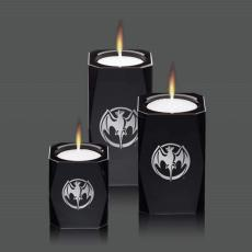 Candle Holders - Abbey Candleholders - Black
