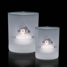 Candle Holders - Evaton Frosted