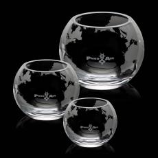 "Personalized Corporate Gifts - Connard"" Globe Bowl"