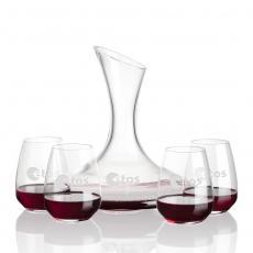 Carafes - Madagascar Carafe & Stemless Wine