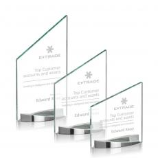 Custom-Engraved Crystal Awards - Biagio Award