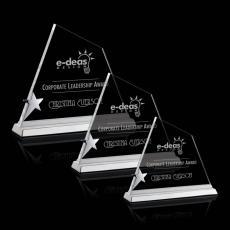 Custom-Engraved Crystal Awards - Baradine Star Award