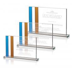 Custom-Engraved Crystal Awards - Clairmont Award
