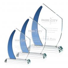Clear Glass Awards - Hausner Award - Blue