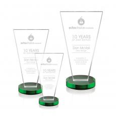 Awards & Recognition Ideas for Employees - Burney Award - Green