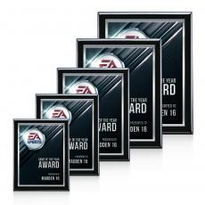 Customizable Plaque Awards - Oakleigh VividPrint™ 3D Plaque - White