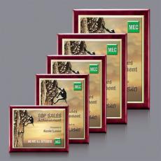 Full Color Plaques - Oakleigh VividPrint™ 3D Plaque - Gold