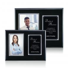 Photo Plaques - Metcalfe Plaque - Black/Silver