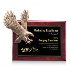 Perpetual Plaques - Flying Eagle - Rosewood (L)
