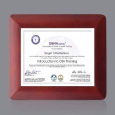 Certificate Frames - Boise