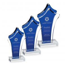 Custom Corporate Acrylic Awards - Tonga Award