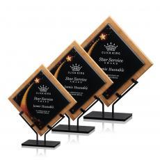 Custom Corporate Acrylic Awards - Lancaster Award - Star