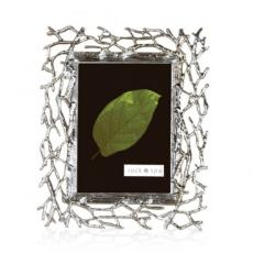 Picture Frames - Twig  - Antique Silver
