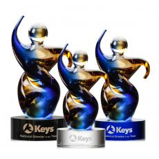 Art Glass Awards & Trophies - Genesis Award
