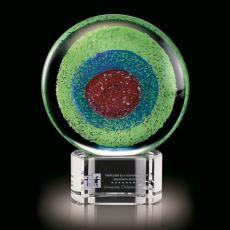Art Glass Awards & Trophies - On Target
