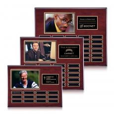 Photo Plaques - Photo (Horiz) P/Plaque - Rosewood/Gold