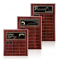 Perpetual Plaques - Antwerp Perpetual Plaque - Cherry Finish