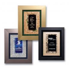 Art Glass Awards & Trophies - Cachet Plaque