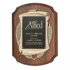 Awards & Recognition Ideas for Employees - Laurel Wreath Plaq
