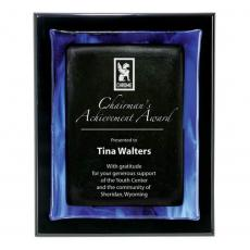Customizable Plaque Awards - Metallic Fusion Plaque