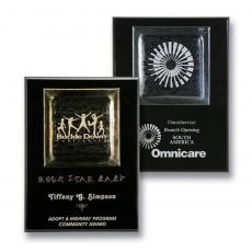 Art Glass Awards & Trophies - Fusion Plaque