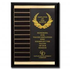 Customizable Plaque Awards - Channel Perpetual Plaque