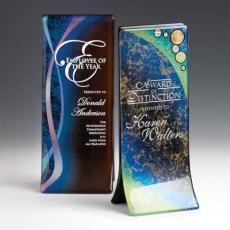 Art Glass Awards & Trophies - Plume Award