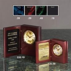 Personalized Corporate Gifts - Book Clock (L)
