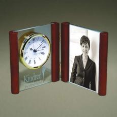 Clock Awards - Glass Photoholder