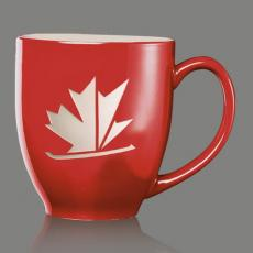 Mugs - Bistro Mug - Red