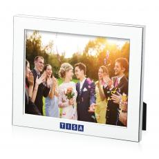 Picture Frames - Luisa Frame - White/Silver