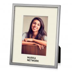 Picture Frames - Alba Frame - Silver/Onyx