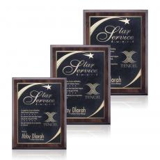 Traditional Plaques - Farnsworth/Birchcliff - Cherry/Black