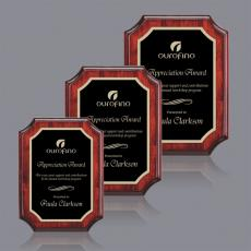 Customizable Plaque Awards - Orsina/Marietta Plaque - Rosewood